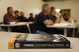 Outreach teaching for OSHA Training