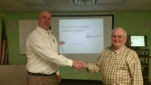 Robert Albrecht with IPS